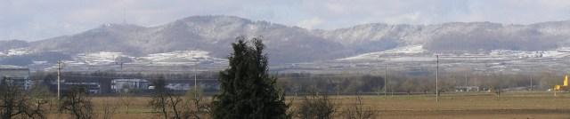 Der Kaiserstuhl im Winter