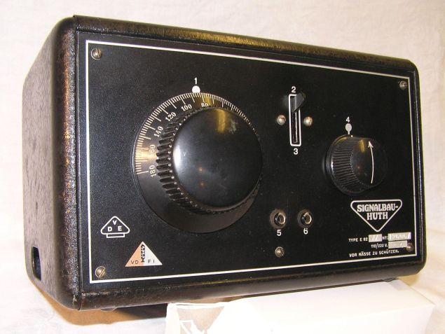 Mein kleines HUTH-Radi, Typ E82W